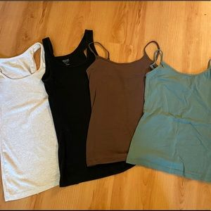 Ribbed tanks and camis